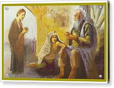 Isaac Blessing Of Jacob Acrylic Print