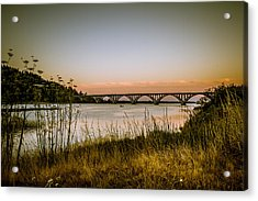 Acrylic Print featuring the photograph Isaac Lee Patterson Bridge by Randy Wood