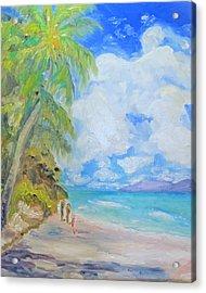 Island Beach Acrylic Print