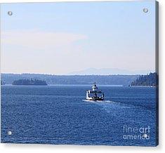 Island Ferry Acrylic Print by Billie-Jo Miller