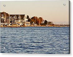 Acrylic Print featuring the photograph Island Heights by Ann Murphy
