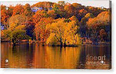 Island  In Fall Acrylic Print