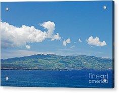 Island On The Horizon Acrylic Print by Gaspar Avila