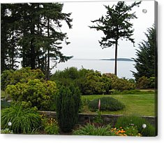 Acrylic Print featuring the photograph Island Paradise by Rand Swift