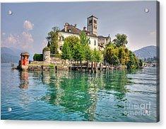 Island San Giulio Acrylic Print
