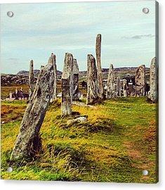 Isle Of Lewis Acrylic Print