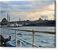 Istanbul  Acrylic Print by Bener Kavukcuoglu
