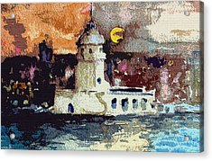 Istanbul Constantinople Acrylic Print
