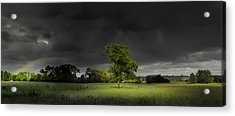 Acrylic Print featuring the photograph It Can't Rain All The Time by John Chivers