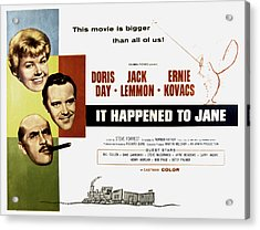 It Happened To Jane, Doris Day, Jack Acrylic Print by Everett