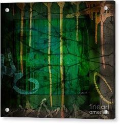 It Runneth Over Acrylic Print by Fania Simon
