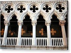 Italian Arches Acrylic Print by Linda Woods