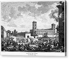 Italian Campaign, 1796 Acrylic Print by Granger