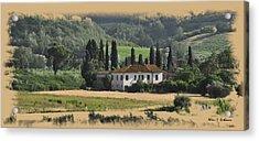 Italian Countryside Acrylic Print