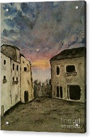 Italian Landscape Acrylic Print by Nicla Rossini