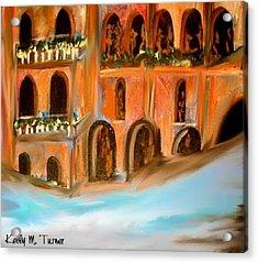 italian Palazzo Acrylic Print