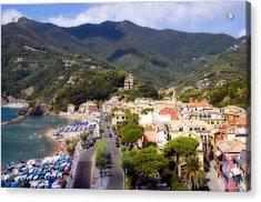 Acrylic Print featuring the photograph Italian Riviera by Rod Jones