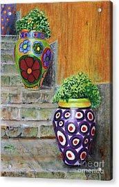 Italian Vases Acrylic Print