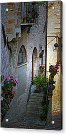 Italian Welcome Home Acrylic Print by Amee Cave
