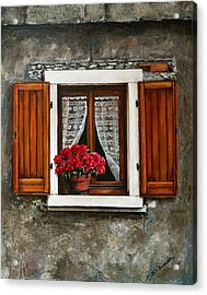 Italian Window Acrylic Print