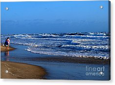 It's A Big Ocean Out There Acrylic Print