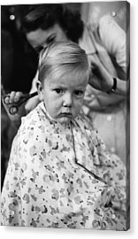 It's Only A Trim Acrylic Print by John Chillingworth