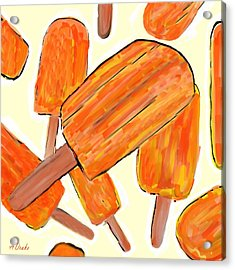 Its Raining Dreamsicles Acrylic Print