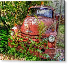 I've Towed My Last Tow.. Acrylic Print
