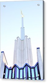 Ivory Towers Acrylic Print by Kenneth Mucke