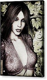 Ivy Wall Acrylic Print
