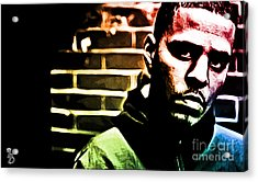 J Cole Acrylic Print by The DigArtisT