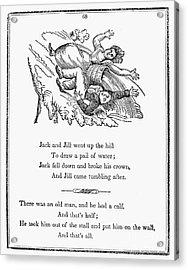 Jack And Jill, 1833 Acrylic Print by Granger