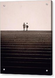 Jack And Jill? Acrylic Print by Victor Keppler