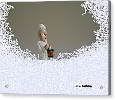 Jack Frost... Caught In The Act. Acrylic Print