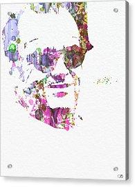 Jack Nicolson 2 Acrylic Print by Naxart Studio