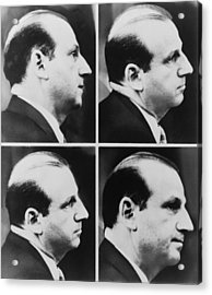 Jack Ruby 1911-1967 During His Trial Acrylic Print by Everett