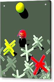 Jacks And Jill Acrylic Print by Ricky Sencion