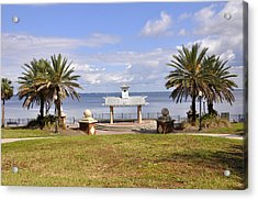 Acrylic Print featuring the photograph Jacksonville Park View by Sarah McKoy
