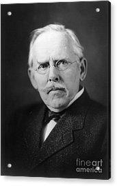 Jacob A. Riis (1849-1914) Acrylic Print by Granger