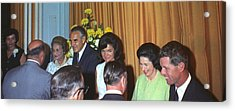 Jacqueline And Robert Kennedy Host Acrylic Print by Everett