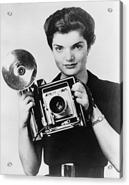 Jacqueline Bouvier As The Inquiring Acrylic Print