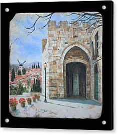 Jaffa Gate Acrylic Print