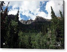 Jagged Mountain Acrylic Print by Juan Romagosa