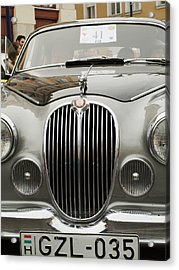 Jaguar Logo Acrylic Print by Odon Czintos