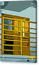 Jail Cell Acrylic Print by Gwyn Newcombe