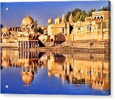 Jaisalmer Rajasthan Acrylic Print