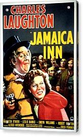 Jamaica Inn, Charles Laughton, Maureen Acrylic Print by Everett