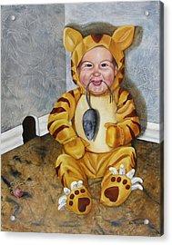 James-a-cat Acrylic Print