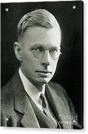 James B. Conant, American Chemist Acrylic Print by Science Source