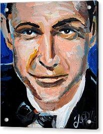 James Bond  Acrylic Print by Jon Baldwin  Art